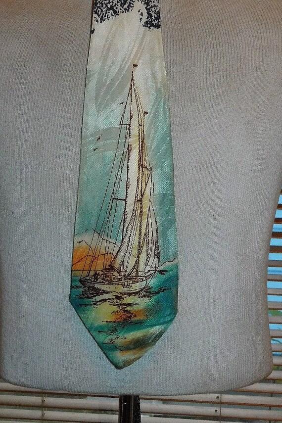 1940's Sailing Tie