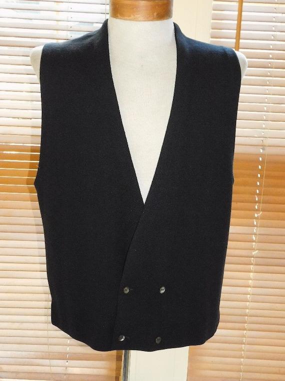 Men's 60s DB Sweater Vest