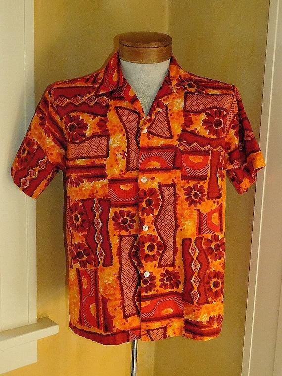 1960's Hawaiian Aloha Shirt