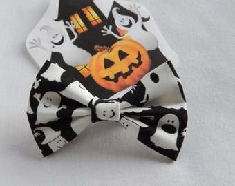 Glow In The Dark Ghosts hair bow Handmade Hair Accessory