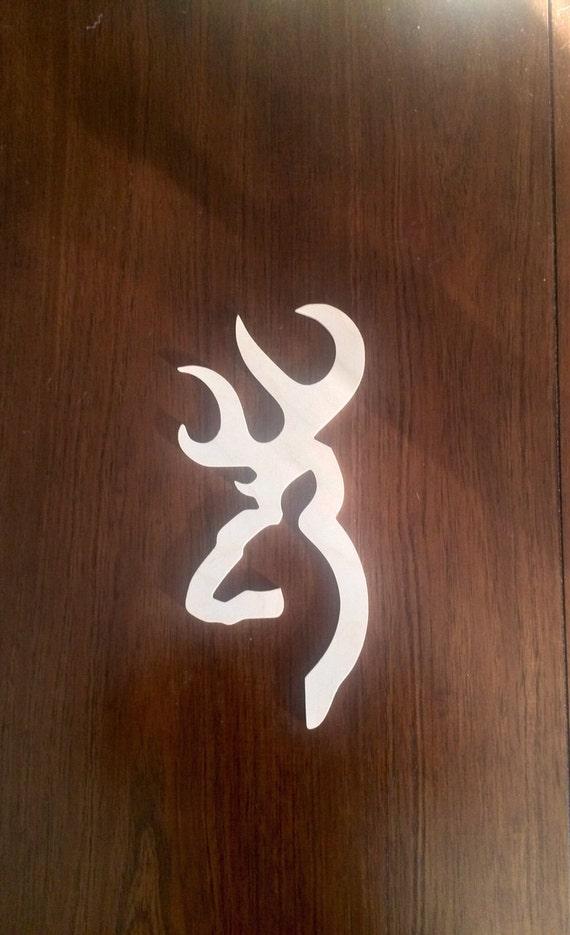 Browning Symbol Browning-Emblem aus Holz gefertigt | Etsy