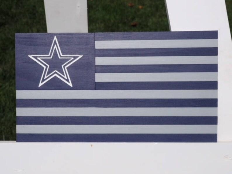 Discount Dallas Cowboys American Flag Dallas Cowboys Flag Cowboys   Etsy  for cheap