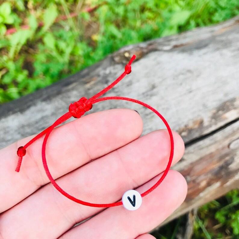 women Adjustable ID bracelets men cord bracelet ID bracelet personalized string bracelet letter bracelets for kids cord bracelets