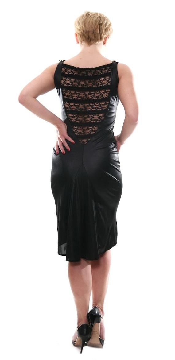 Clothes Dress Tango Back Tango Elegant Dress Argentine Lace Milonga Black with zgYvTTq
