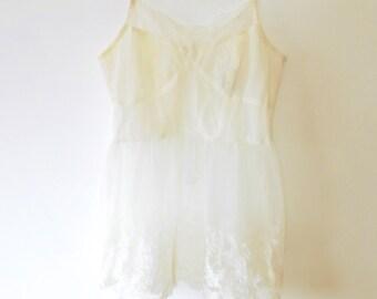 c35cab3edd2 Cream floral lace camisole top