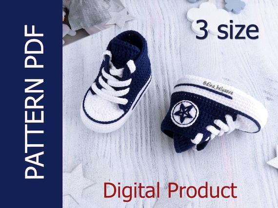 Baby shoes pattern Baby crochet Pattern