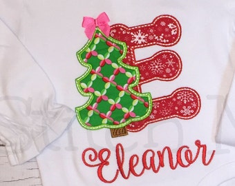 Christmas Tree with Initial