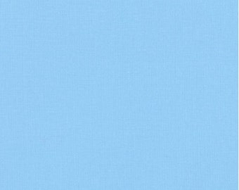 Lake Blue Cotton Fabric by Robert Kaufman, Lake Blue