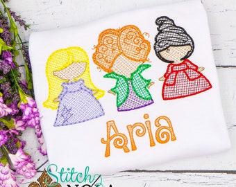 Personalized Halloween Top, Hocus Pocus Shirt, Witch Trio Shirt Witch Trio Embroidery, Halloween Shirt