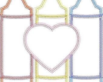 Crayon Trio with Heart Monogram Applique, Back to School Shirt, Monogrammed Back to School Shirt, Personalized Back to School