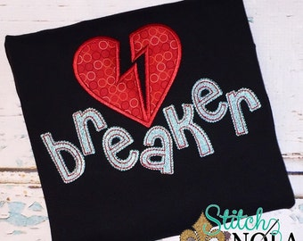 Heart Breaker Shirt, Bodysuit, Romper, or Gown