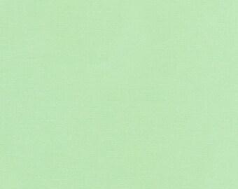 Mint Cotton Fabric by Robert Kaufman, Mint