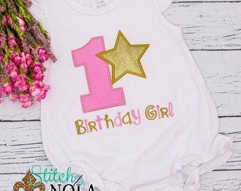 Twinkle Twinkle Little Star Birthday Applique, Star Applique, Twinkle Little Star