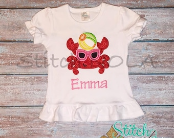 Beach Crab Shirt, Gown or Bodysuit