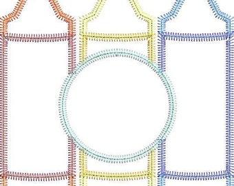 Crayon Trio with Monogram Applique, Back to School Shirt, Monogrammed Back to School Shirt, Personalized Back to School