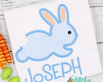 Hippity Hop Bunny Easter Shirt, Gown or Bodysuit-Boy or Girl