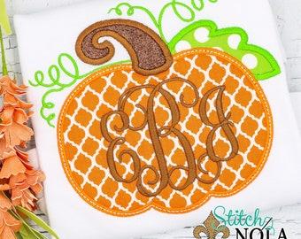 Orange Quatrefoil Pumpkin Bubble, Tee, Gown, or Bodysuit