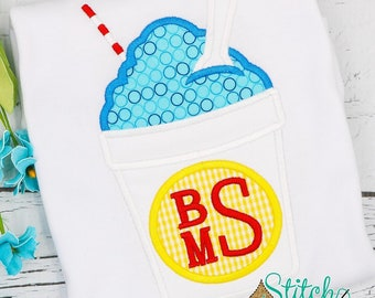Snowball Applique, Snoball, Snocone, Snowball Shirt, Snoball Tee