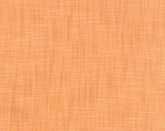 Tangerine Cotton Fabric by Robert Kaufman, Manchester, Orange Cotton Fabric