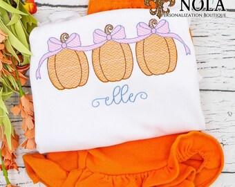 Sketch Pumpkin Outfit,  Pumpkin Trio Shirt, Sketch Pumpkin Shirt and Shorts Set, Fall Festival Outfit, Girls Pumpkin Shirt