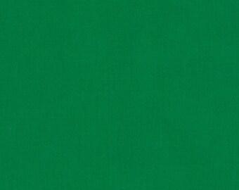 Clover Cotton Fabric by Robert Kaufman, Green Fabric