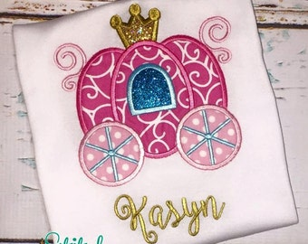 Princess Carriage Shirt, Bodysuit, Bubble or Dress