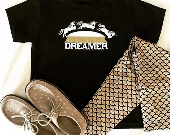Black and Gold Dreamer