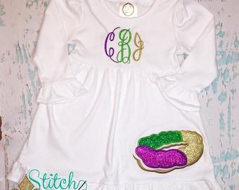 Glitter King Cake Dress