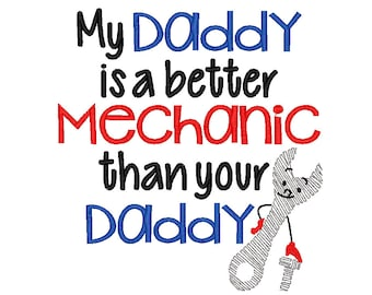 My Daddy is a better Mechanic than your daddy
