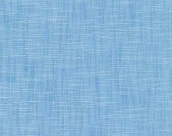 Blue Cotton Fabric by Robert Kaufman, Manchester, Blue Cotton Fabric