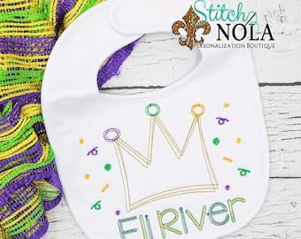 Mardi Gras Crown Sketch Embroidery, Mardi Gras King , Mardi Gras Shirt, Mardi Gras Beads, Mardi Gras Queen