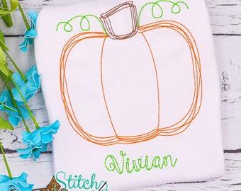 Vintage Pumpkin Shirt, Pumpkin Romper, Pumpkin Bodysuit, Pumpkin Bubble, Fall Outfit, Pumpkin Outfit, Fall Vintage Stitch, SHIPS FAST!!