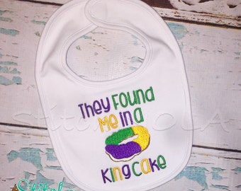 They Found Me in a King Cake