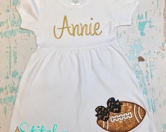Glitter Football Dress