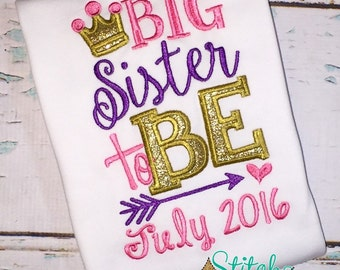 Big Sister To Be, Big Brother to Be, Sibling Set