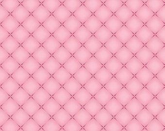 English Rose Cushion Pink Fabric, Riley Blake, 100% Cotton