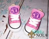 Monogrammed Chuck Taylor Classic Converse Shoes - Toddler Youth