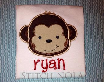 Monkey T-Shirt ot Bodysuit