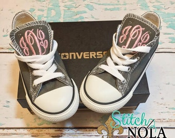 Monogrammed Chuck Taylor Classic Converse Shoes - Toddler & Youth