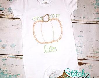 SHIPS FAST!!  Vintage Pumpkin Shirt, Romper or Bodysuit