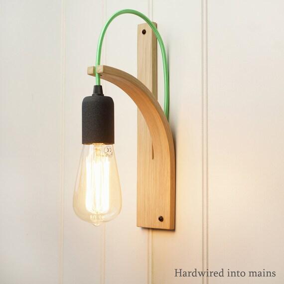 & Wall Light Hardwired Wall Sconce Wall Lamp Oak Lighting