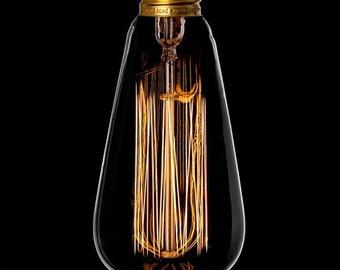 Teardrop filament bulb E27 40W