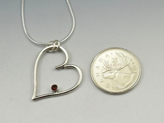 Sterling Teardrop Pendant with Gemstones PE661