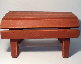 Little red footstool