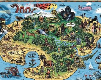 Treasure island | Etsy