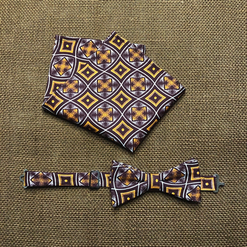 Child\u2019s Bow Tie and Pocket Square