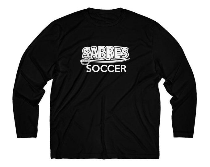 Sabres Soccer Long Sleeve Moisture Absorbing Tee