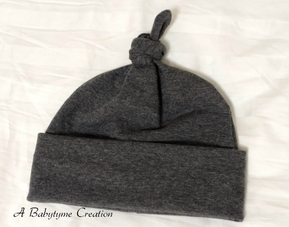 Baby boy top knot hat Baby top knot hat Newborn hat Baby  fa693e6d7c7