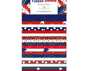 099d209d9 Yankee Doodle fabric strips from Wilmington Prints