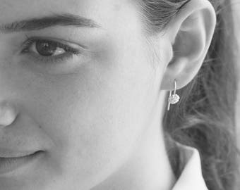 Dangle Earrings, Small Earrings, Small Dangle Earrings, Small Silver Earrings, Silver Earrings, Unique Earrings, Elegant Earrings, Earrings